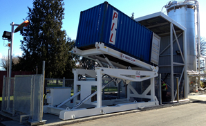 emf container handling equipment steel fabrication